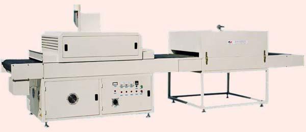 红外流平、平面UV干燥组合式生产线